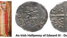 An Irish Halfpenny of Edward III (Dublin Mint)