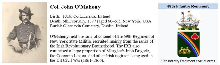 Col. John O'Mahony