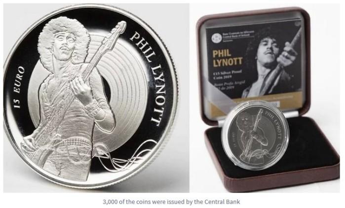 2019 Phil Lynott commemorative coin