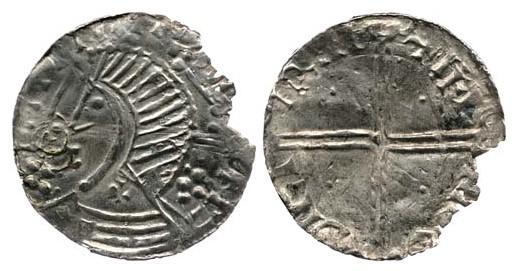 Hiberno-Manx Silver Penny, imitating an Hiberno-Norse, Phase II Penny of Dublin