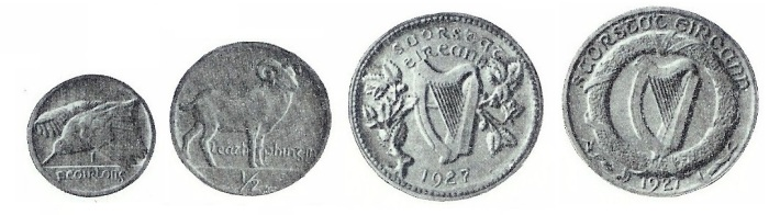Jerome Connor's Coin Designs: Irish Coin Design Competition 1927