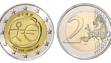 2009 Ireland - Special €2 commemorative coin (10th anniversary of the EMU and the birth of the euro)