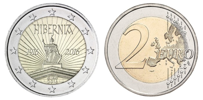 2016 Ireland special €2 - 100th anniversary of the Easter Rising