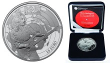 2018 Rory Gallagher €15 silver proof coin (Limited edition, boxed)