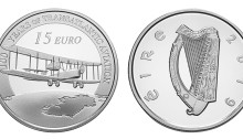 2019 Centenary of First Trans-Atlantic Flight €15 Silver Proof