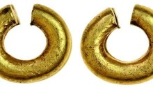 Gold Ring Money - Plain type, double band 7.88g