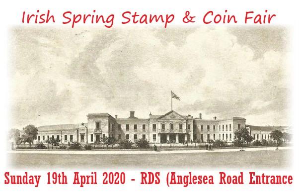 Spring Stamp & Coin Fair - Banner 19th April 2020