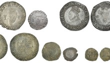 The Irish Coinages of Elizabeth I - three different issues / six different denominations