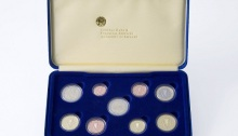 Ireland 2007 Proof Euro Coin – Set of nine coins, incl. 2007 Treaty of Rome €2 commemorative