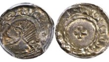Hiberno-Norse. Phase V (c.1065-95) Penny ND, Uncertain mint, 1.49g, S-6147. A very rare imitation Edward the Confessor's small cross penny