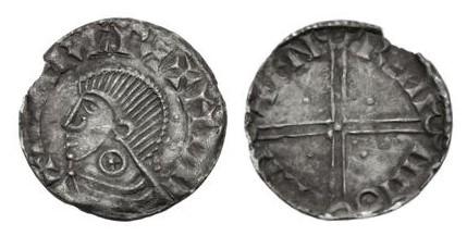 Hiberno-Norse Penny, Dublin (Difilin), Phase II, blundered Sihtric of Dublin + moneyer Faeremin, wheel on neck, SCBI 32 (Ulster), 104-5, SCBC 6128